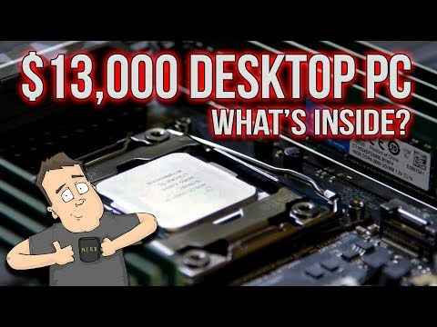 Insane $13k Desktop Gaming & Video Editing PC Overview