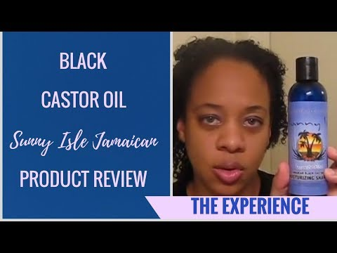 Sunny Isle Jamaican Black Castor Oil Product Review - Week 1