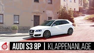 Audi S3 8P // A3 8P 3,2  | Klappenabgasanlage mit ECE Zulassung