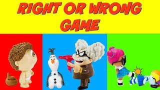 RIGHT OR WRONG GAME LOL SURPRISE Dolls, Professor Poopy Pants, Rarity You Decide