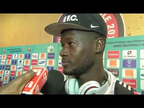 Post-match Interview Congo - Orange Africa Cup of Nations, EQUATORIAL GUINEA 2015
