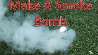 How To Make A Pull Pin Smoke Bomb