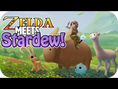 Zelda meets Stardew! - Yonder The Cloud Catcher Chronicles Gameplay – Part 1