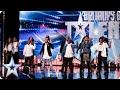 Revelation Avenue Roar Straight Into The Semi Finals! | Britain's Got Talent 2015