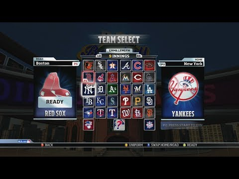 RBI Baseball 14: Red Sox vs Yankees Gameplay (Xbox 360)
