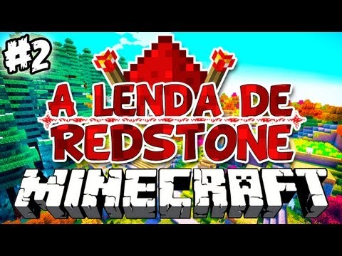 CREEPAMONAS! - A Lenda de Redstone: Minecraft #2
