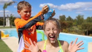 WATER BALLOON CHALLENGE!!! BUNCH O BALLOONS