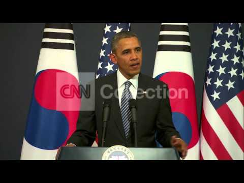 SEOUL:OBAMA DISCUSSES N KOREA SITUATION