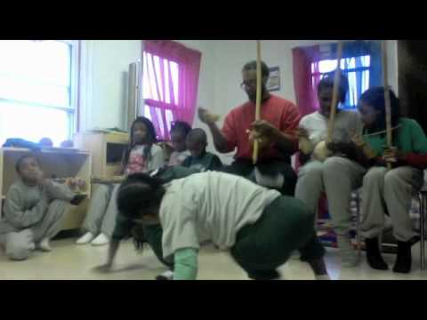 CAPOEIRA-ANGOLA @ THE GARVEY SCHOOL (TRENTON) W/CHICAGO (LOW COUNTRY)