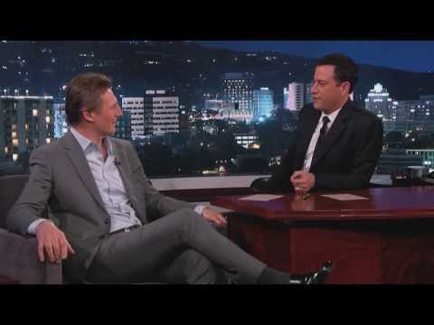 Liam Neeson on Jimmy Kimmel