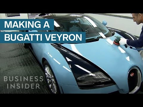 Watch How A Bugatti Veyron Is Made