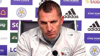 Leicester 2-0 Arsenal - Brendan Rodgers FULL Post Match Press Conference - Subtitles