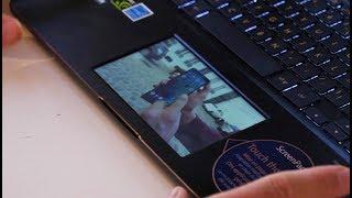 Test du Asus Zenbook Pro 15, le premier PC portable avec un touchpad écran !