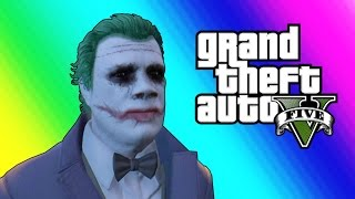GTA 5 Online: Halloween DLC - The Joker & The Slasher! (GTA 5 Funny Moments)