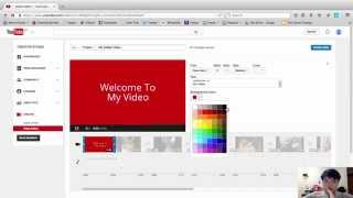 How to create a video with pictures and music in youtube - Create Youtube Video