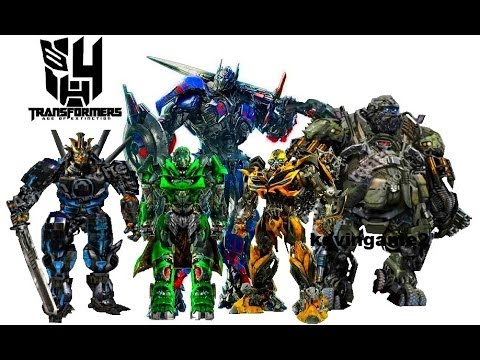 Transformers 4 : Age Of Extinction - Cast Robots video