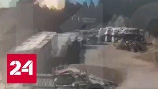 Мощный взрыв в Петербурге попал на видео - Россия 24
