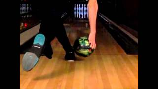 Bowling Release Slow Motion - Rear View - Michael Bauer