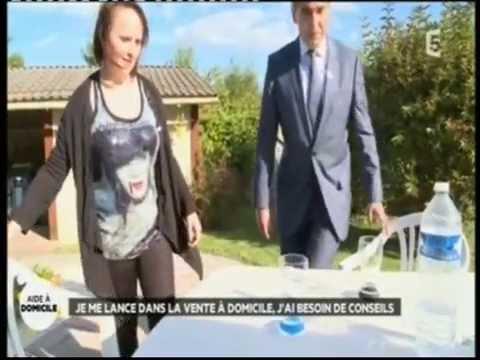 Reportage sur la vente à domicile - La Quotidienne France 5 - Charlott
