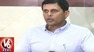 EC CEO Rajat Kumar Speaks To Media Over Voter Registration Program | Hyderabad