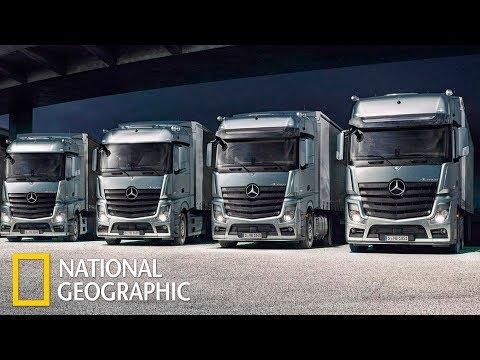 Мегазаводы: Грузовики Мерседес / Mercedes Trucks