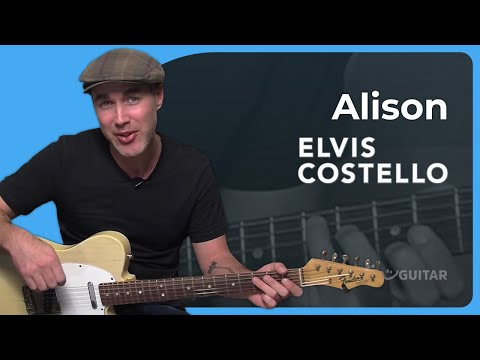 How to play Alison by Elvis Costello (Guitar Lesson SB-319)