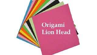 How To Make An Origami Lion Head