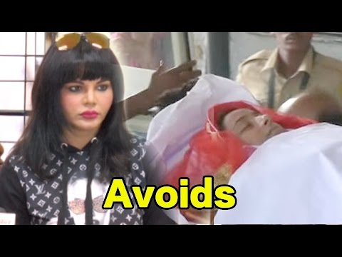 Pratyusha Banerjee Suicide Case: Rakhi Sawant Avoids Talking About Her!