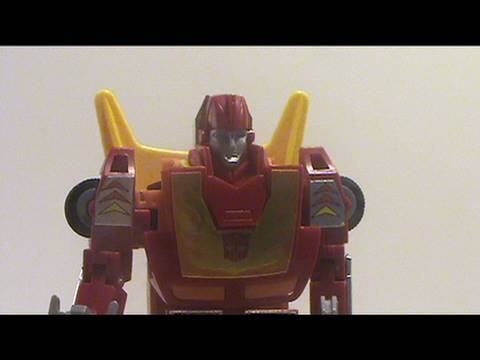 Video review of Transformers Takara Reissue C-78; G1 Hot Rod