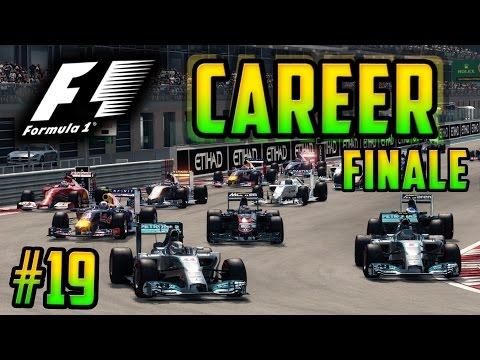 F1 2015 Season Mod Career FINALE | Part 19 - Abu Dhabi 100% Race | Mclaren Honda