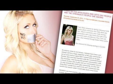 Paris Hilton me Arrepiento De Todo Lo Que Dije! De Los Gays video