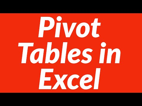 Data Table Excel Example Pivot Tables in Excel For Data