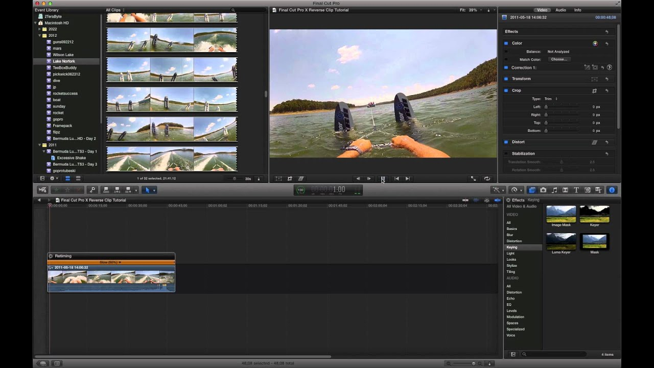 how to make final cut pro run smoother