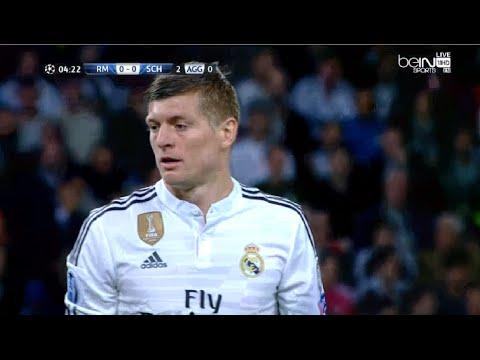 Toni Kroos vs Schalke 04 (H) 14-15 720p HD