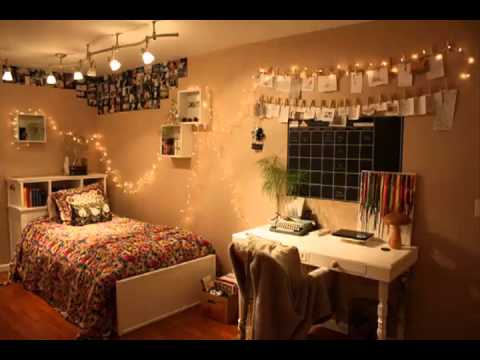 Tumblr room ideas youtube for Male apartment bedroom ideas