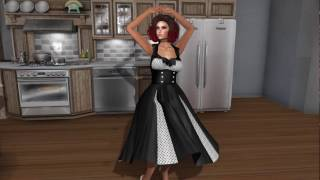 Second Life : Fashion with Lizzie Time for a moondance