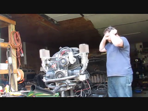 VW 2387cc Stroker Build