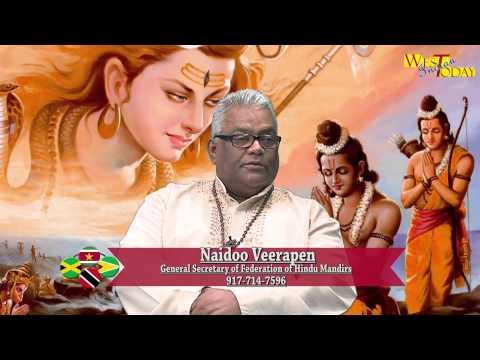 West Indian Today   Naidoo Veerapen & Tara Seetaram  Ramayan in the Park Federation of Hindu Mandirs