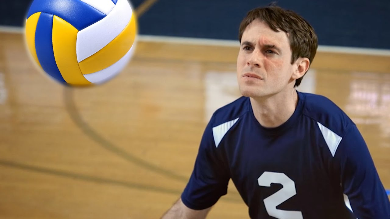 Scott Sterling With The Best Volleyball Blocks You'll Ever See