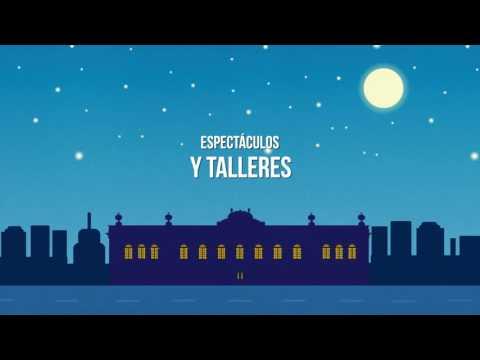 Video Noche Blanca 6ª edición en el Museo Fernando García Ponce-MACAY