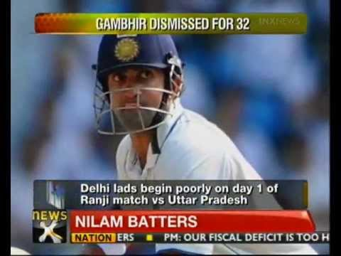 Indian team Test stars stumble in Ranji - NewsX