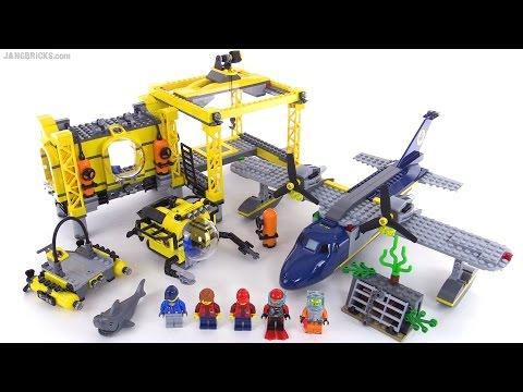 LEGO City Deep Sea Operation Base review! set 60096