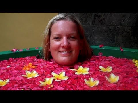 NAKED GIRL IN A FLOWER BATH??? - BALI ADVENTURE - (DAY 6)