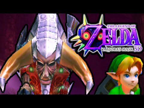 The Legend Of Zelda Majora's Mask 3ds Boss Fight Goht Snowhead Temple Part 13 Gameplay Walkthrough video