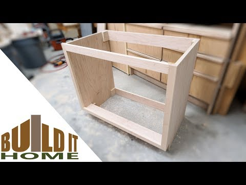 Building The Bathroom Vanity Cabinet - Part 1