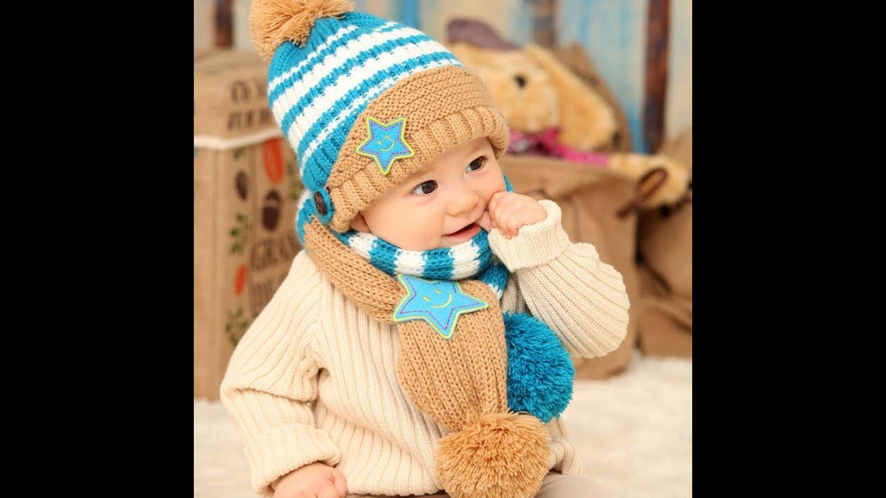 Шапки и шарфы для мальчиков вязание 20