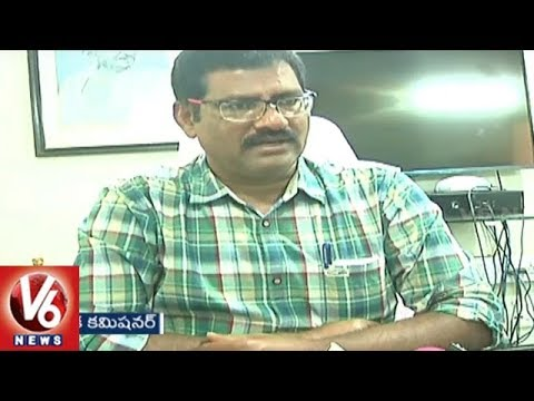 Municipal Officials Raids On Hotels In Nalgonda, Warns Management Over Shabby Food Storage | V6 News