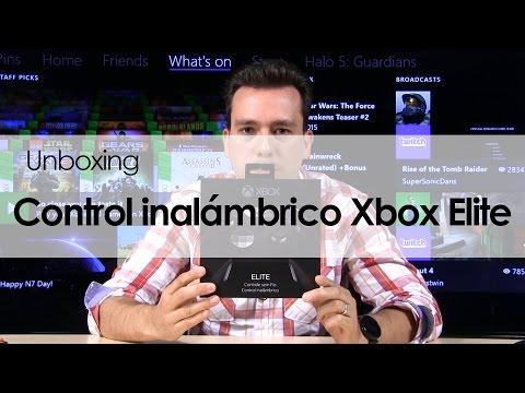 VIDEO: UNBOXING: CONOCE EL NUEVO CONTROL INALÁMBRICO XBOX ELITE