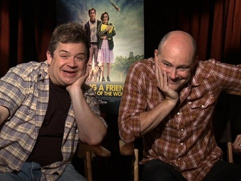 Patton Oswalt and Rob Corddry Talk 'Seeking a Friend for the End of the World'