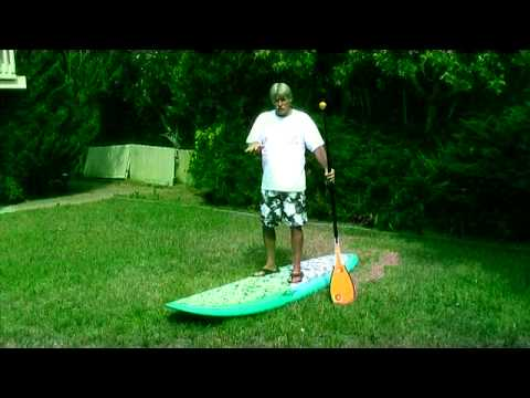 Standup Paddleboard Tutorial (Wave Riding) - Joe Blair
